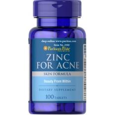 Viên uống trị mụn Zinc for Acne